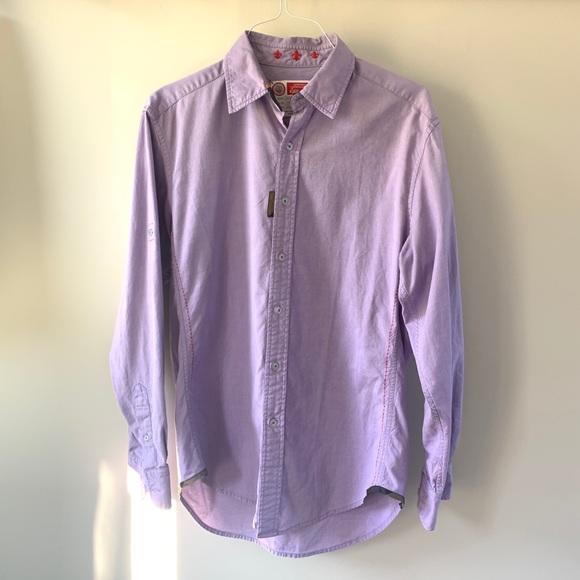 Luxury imported cotton Robert Graham men's shirt